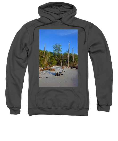 The Unspoiled Beauty Of Barefoot Beach In Naples - Portrait Sweatshirt