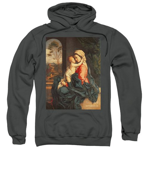The Virgin And Child Embracing Sweatshirt
