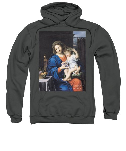 The Virgin Of The Grapes Sweatshirt