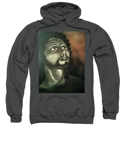 The Vision Of St. Christopher Sweatshirt