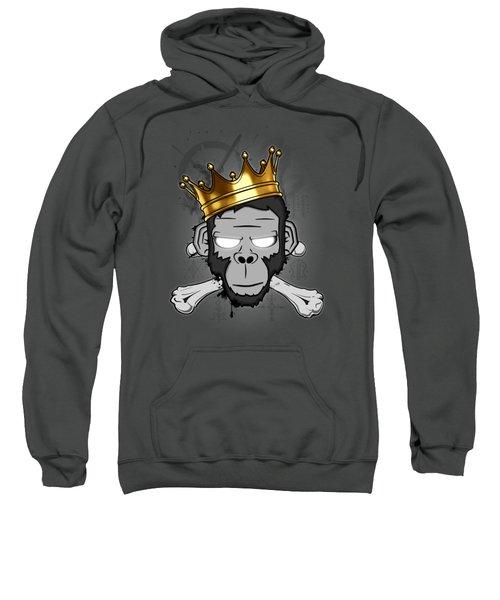The Voodoo King Sweatshirt by Nicklas Gustafsson