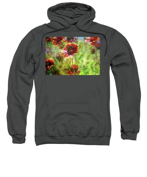 The Wasp On His Blanket 0508 Idp_2 Sweatshirt