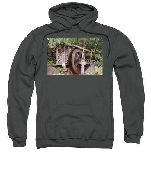 The Water Wheel Keeps Turning ... Sweatshirt