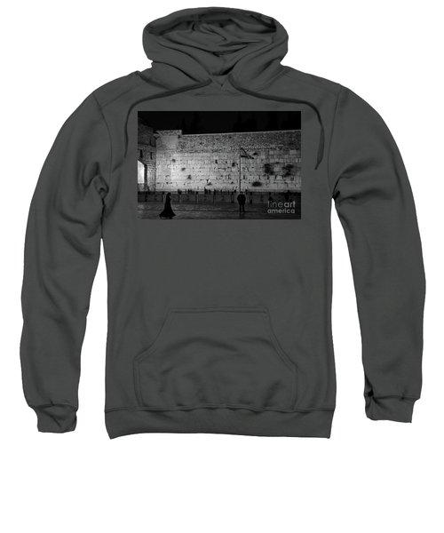 The Western Wall, Jerusalem Sweatshirt