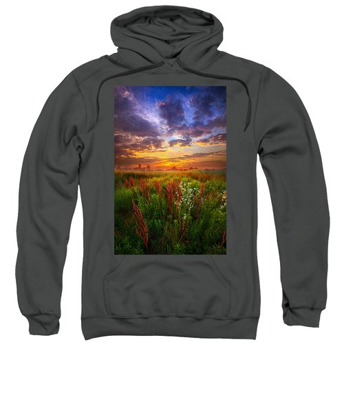 The Whispered Voice Within Sweatshirt