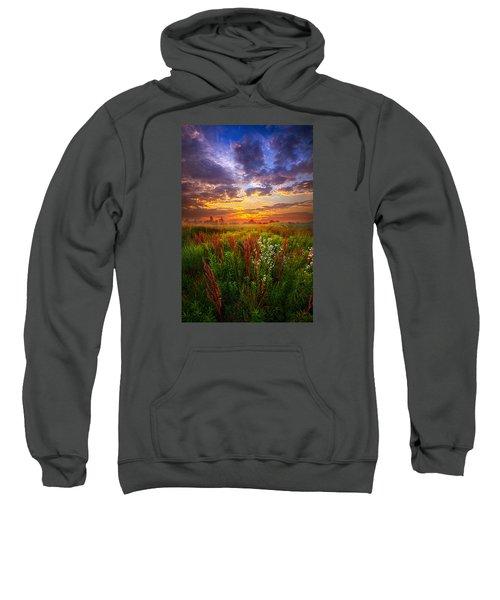 The Whispered Voice Within Sweatshirt