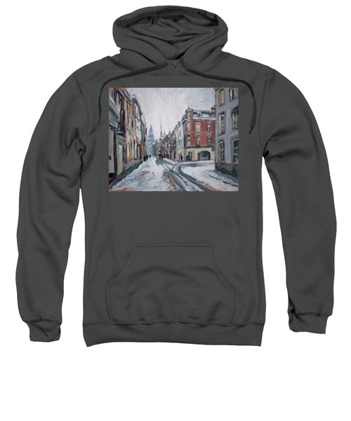 The White Grand Canal Street Maastricht Sweatshirt