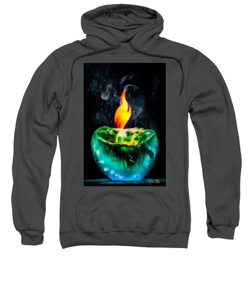 The Winter Of Fire And Ice Sweatshirt