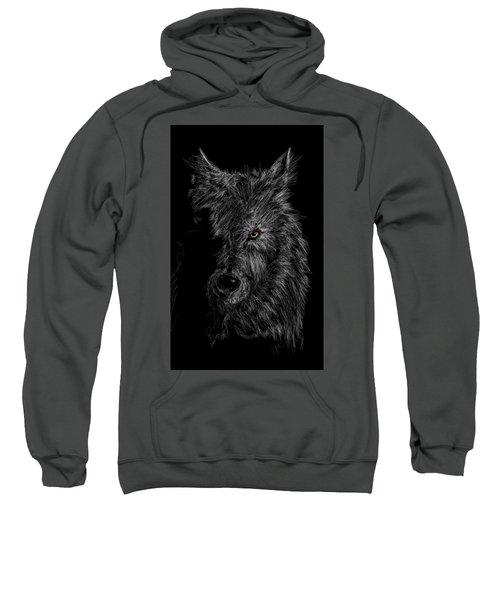 The Wolf In The Dark Sweatshirt
