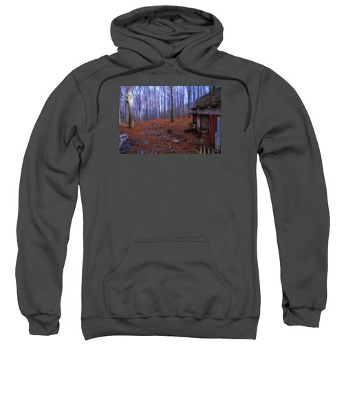 The Wood A La Magritte - Il Bosco A La Magritte Sweatshirt