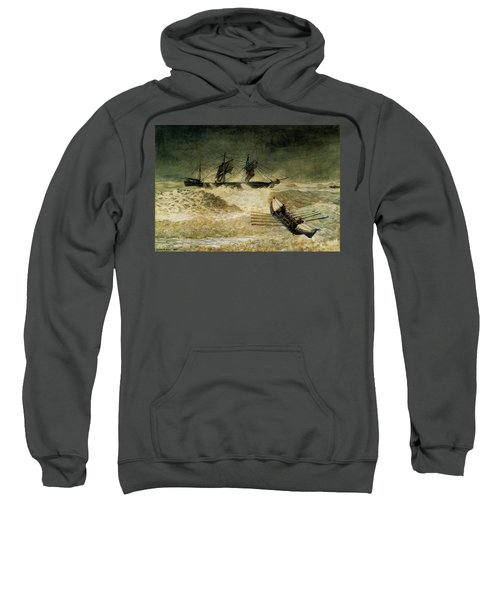 The Wreck Of The Iron Cloud, 1881 Sweatshirt