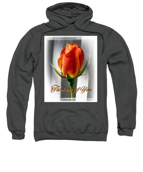Thinking Of You, Rose Sweatshirt
