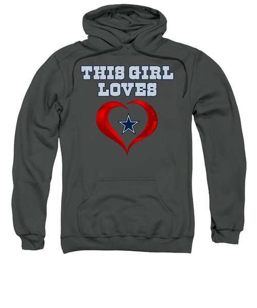 This Girl Loves Dallas Cowboy Sweatshirt