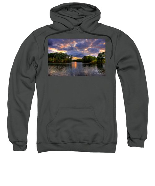 Thomas Lake Park In Eagan On A Glorious Summer Evening Sweatshirt