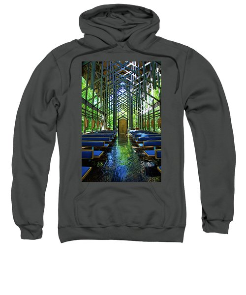 Thorncrown Chapel Serenity Sweatshirt