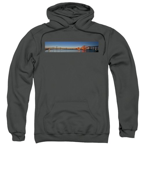 Three Forths At Dusk Sweatshirt