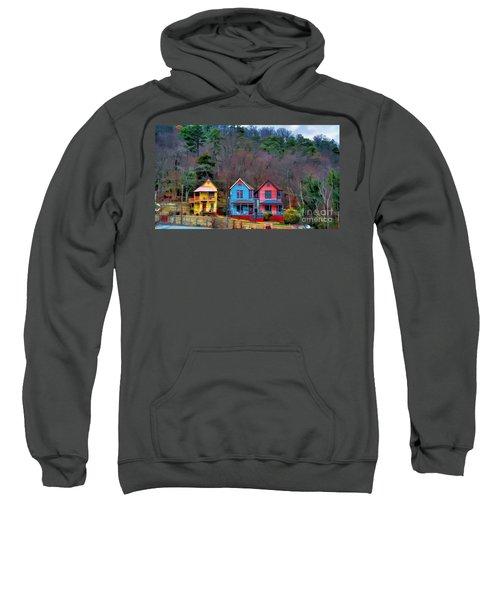 Three Houses Hot Springs Ar Sweatshirt