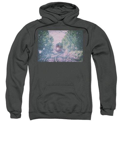 Through The Blizzard Sweatshirt