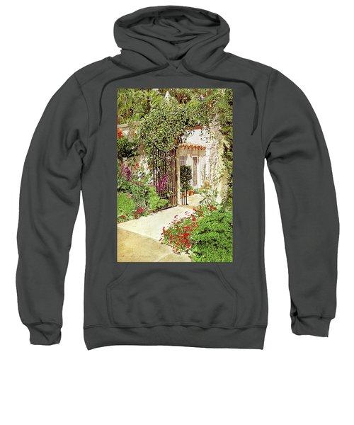 Through The Garden Gate Sweatshirt