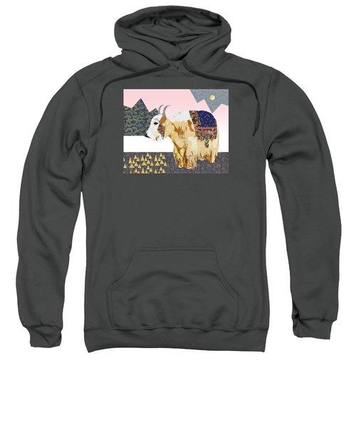 Tibet Yak Collage Sweatshirt