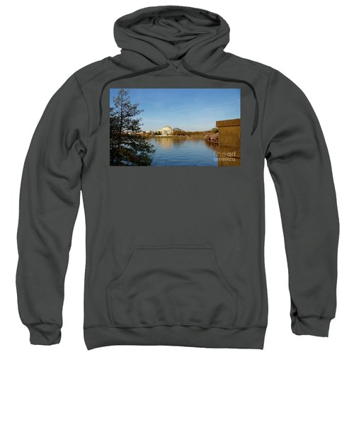 Tidal Basin And Jefferson Memorial Sweatshirt