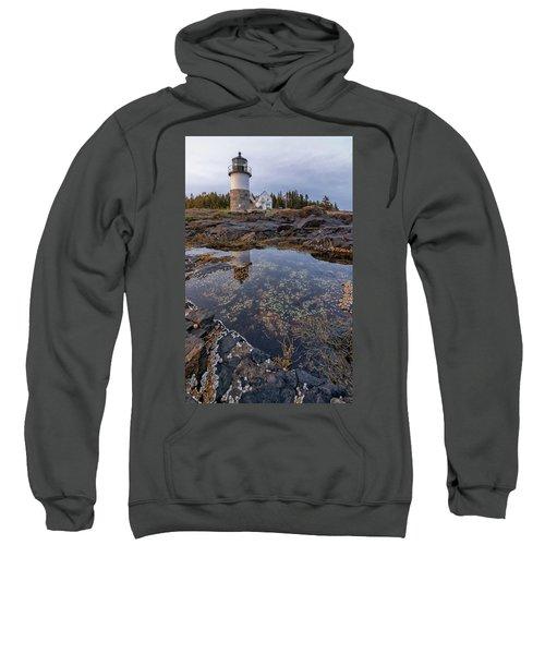 Tide Pools At Marshall Point Lighthouse Sweatshirt