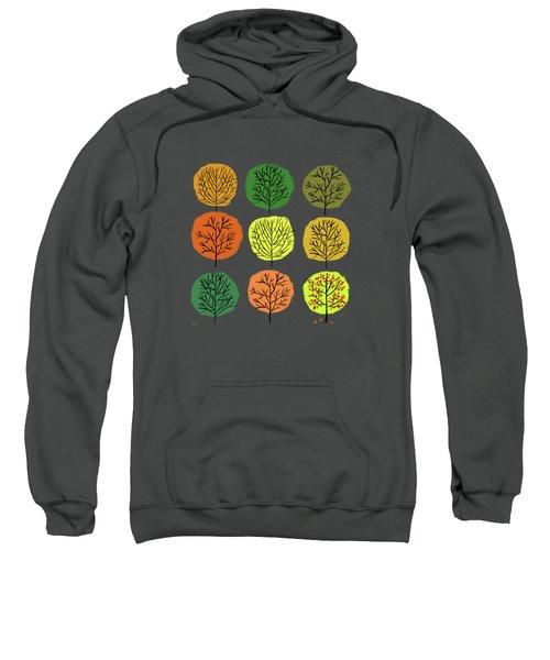 Tidy Trees All In Pretty Rows Sweatshirt