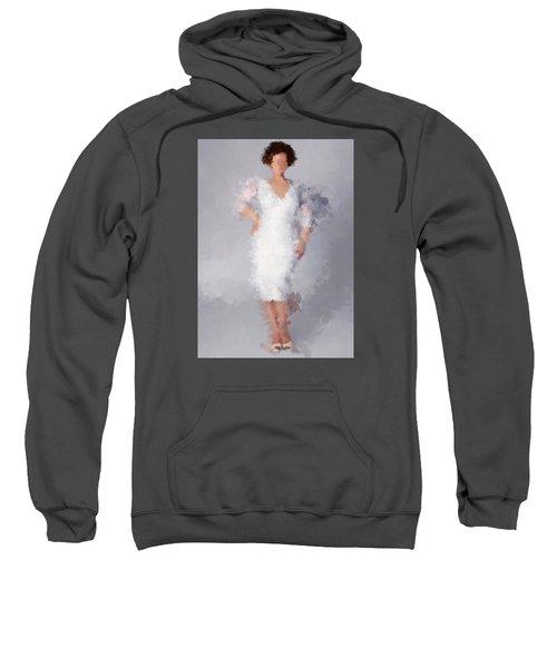 Sweatshirt featuring the digital art Tiffany by Nancy Levan