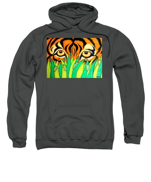Tiger And Frogs Sweatshirt