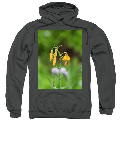 Tiger Lily In Olympic National Park Sweatshirt