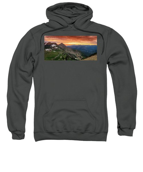 Timp Sunset Panorama Sweatshirt