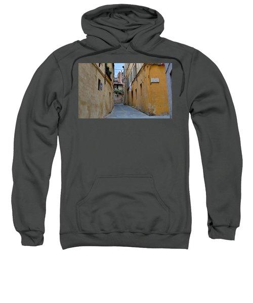 Tiny Street In Siena Sweatshirt