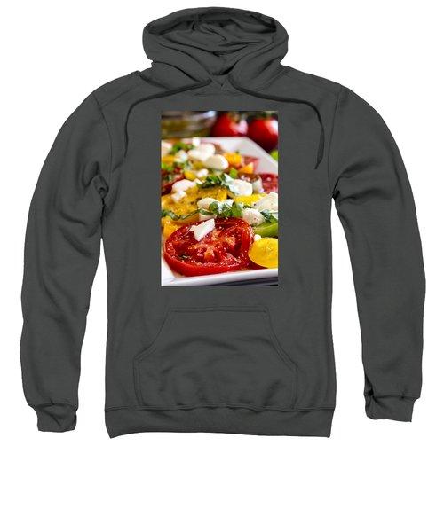 Tomatoes, Basil And Cheese Sweatshirt