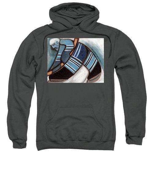 Toronto Hockey Player Art Print Sweatshirt