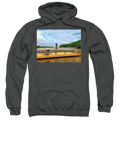 Too Hot To Fish Sweatshirt