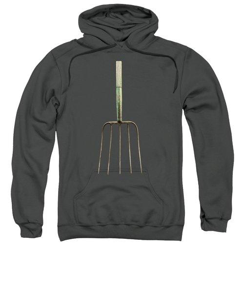 Tools On Wood 7 On Bw Sweatshirt