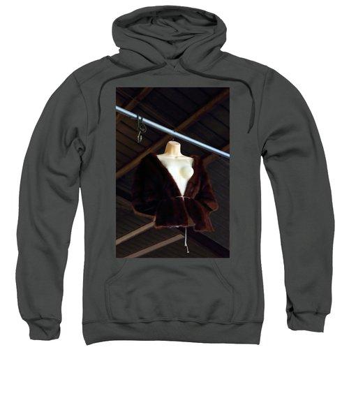 Top Fur Coat Sweatshirt