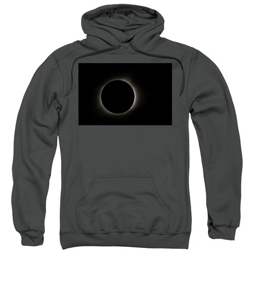 Total Eclipse Solar Flares Sweatshirt