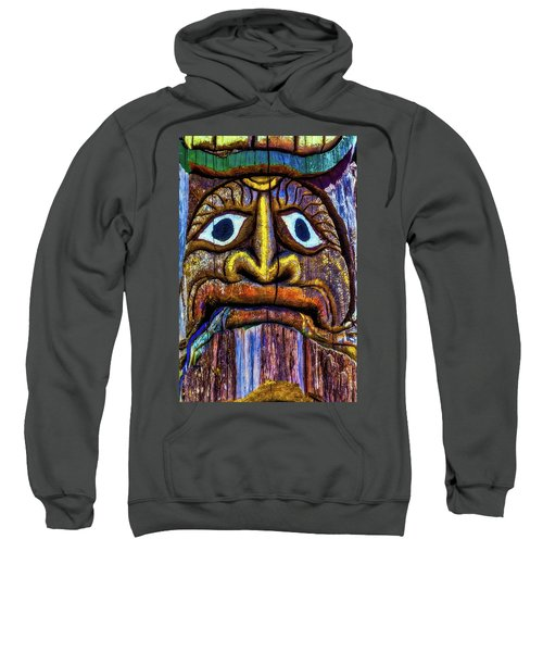 Totem Colorful Face Sweatshirt