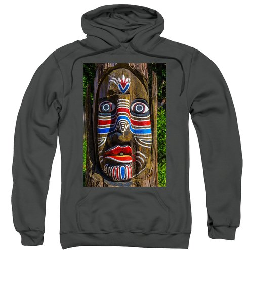 Totem Face Sweatshirt
