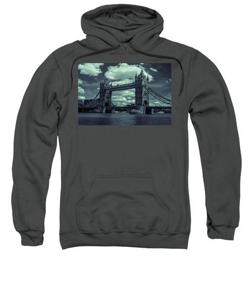 Tower Bridge Bw Sweatshirt