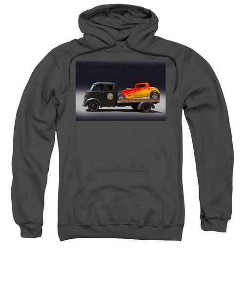 Towing Hot Rod Sweatshirt