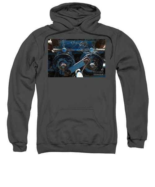 Sweatshirt featuring the photograph Tractor Engine IIi by Stephen Mitchell