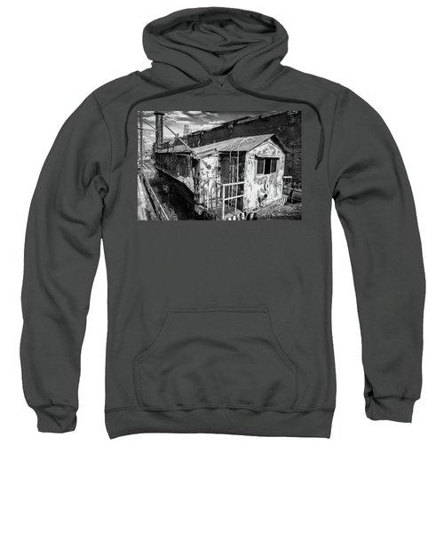 Train 6 In Black And White Sweatshirt