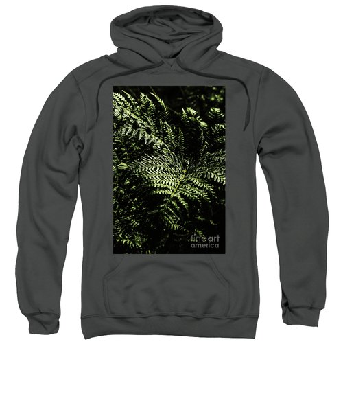 Tranquil Botanical Ferns Sweatshirt