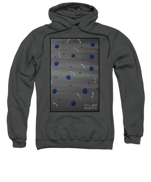 Tranquil Acrylic Abstract Sweatshirt