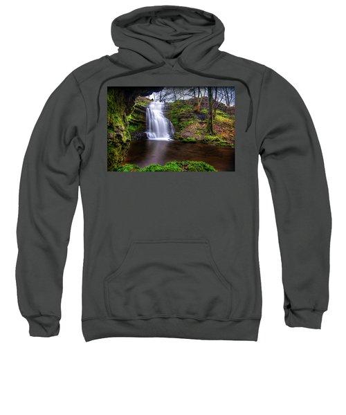 Tranquil Slow Soft Waterfall Sweatshirt