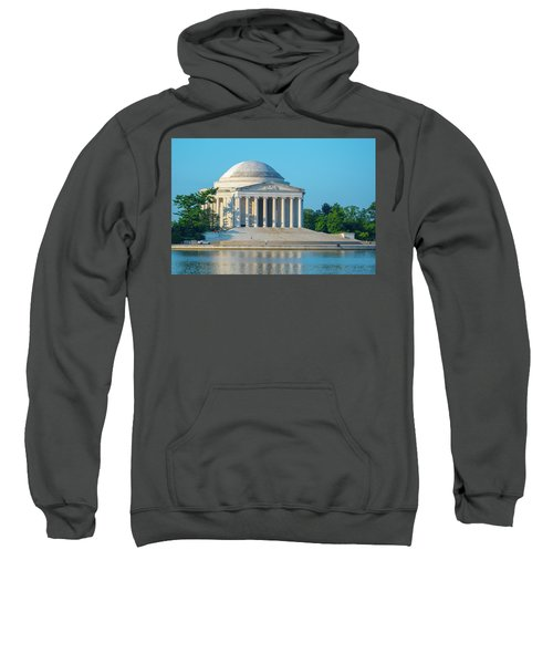 Tranquility At The Jefferson Memorial Sweatshirt