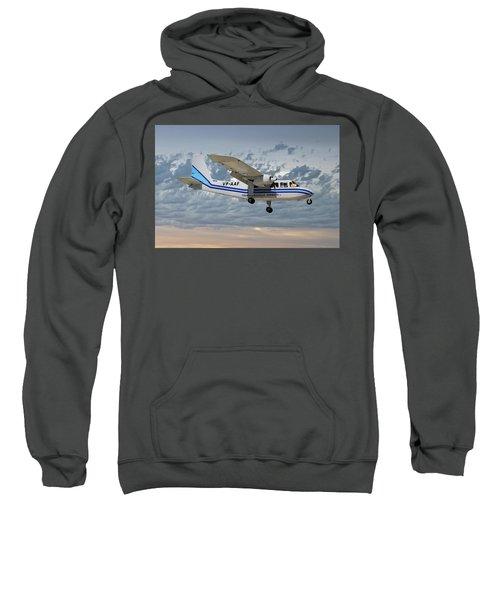 Trans Anguilla Airways Britten-norman Bn-2b-21 Islander 113 Sweatshirt