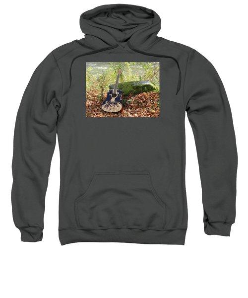 Traveling Musician Sweatshirt by Krys Whitney